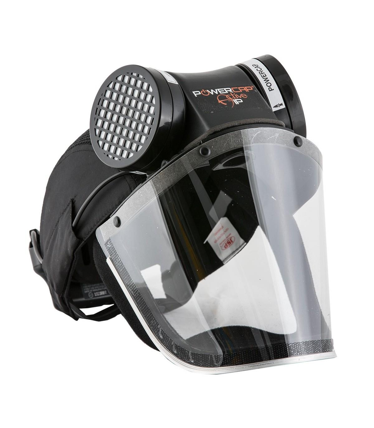 casquette de s curit respiration assist e powercap active. Black Bedroom Furniture Sets. Home Design Ideas